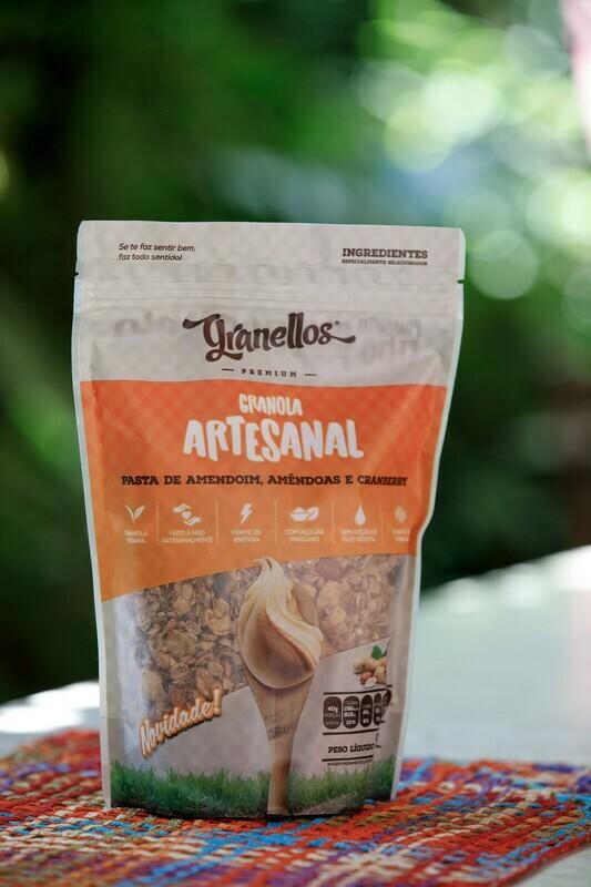 Granola Artesanal – Pasta de Amendoim – Granellos