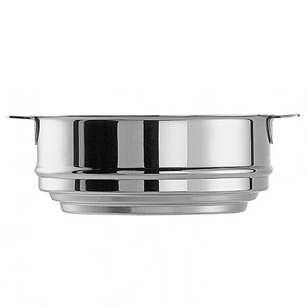 mutine cuit vapeur inox universel 20 cm pour casserole de 16 a 20 cm cristel
