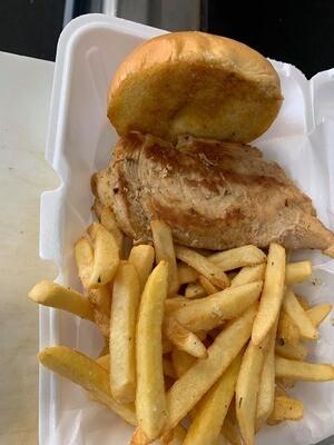 Fat Boy Chicken Sand