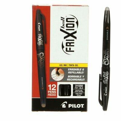 Black Frixion Fine Point Pen