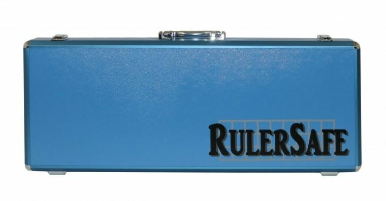 Ruler Safe Case Blue