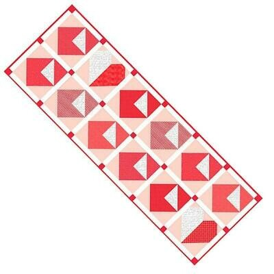 Love Letters Table Runner