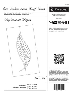 One Leaf Series - Extra Papers - 416