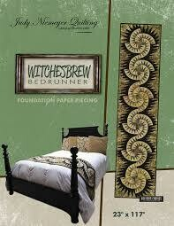 Witches Brew Bed Runner