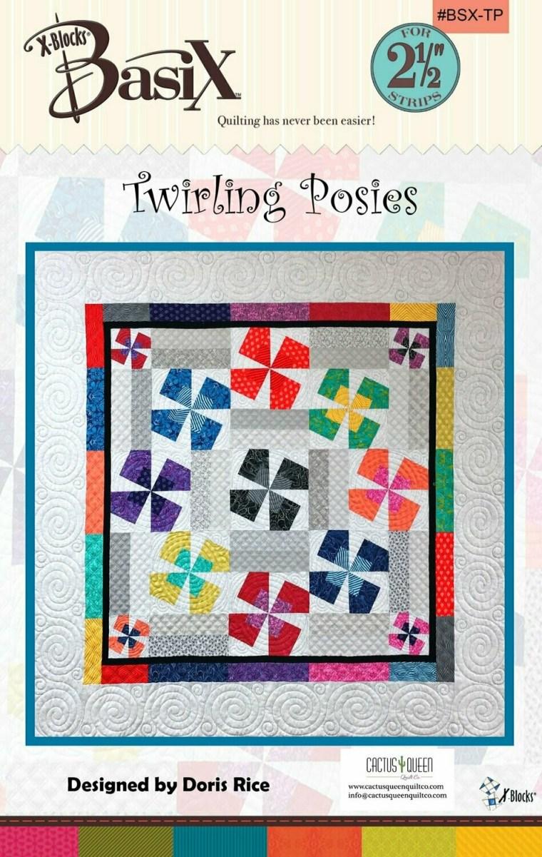 Twirling Posies - X Blocks