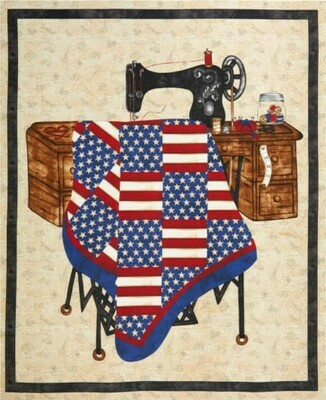 1191P Sew American Panel