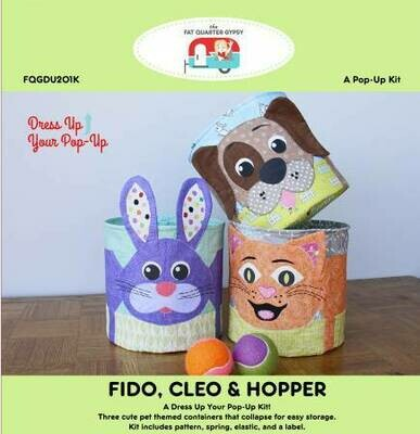 Fido, Cleo & Hopper Kit