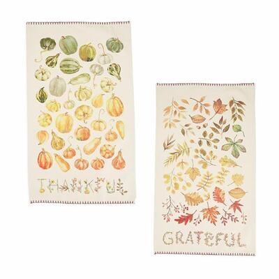 Autumn Dish Towels