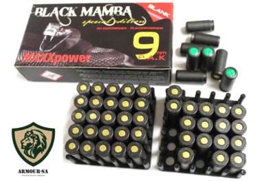 MAXXTech 9mm P.A.K Blank Cartridges Double the power