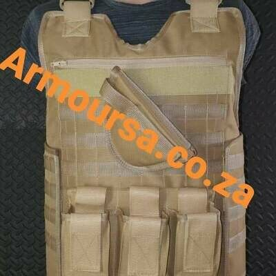 Level III Ballistic Vest Package 2 x Level III stand alone plates and 1 x Cover