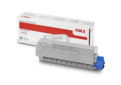 OKI Toner magenta C612 6000 Seiten