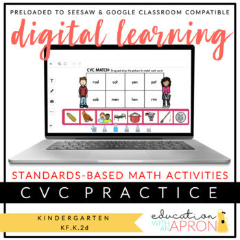 Digital Learning: CVC Lessons for Seesaw and Google Apps
