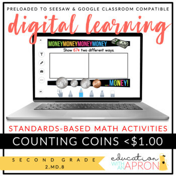 Digital Learning: Counting Coins for Seesaw and Google Apps