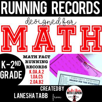 Math Assessment Running Record