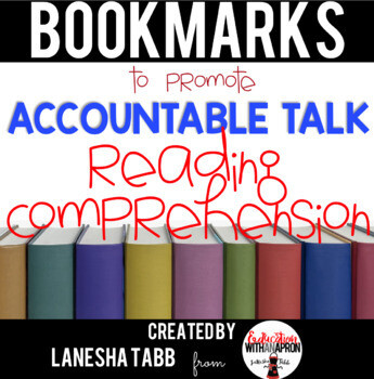 Reading Response Conversation Prompt BOOKMARKS! FREE