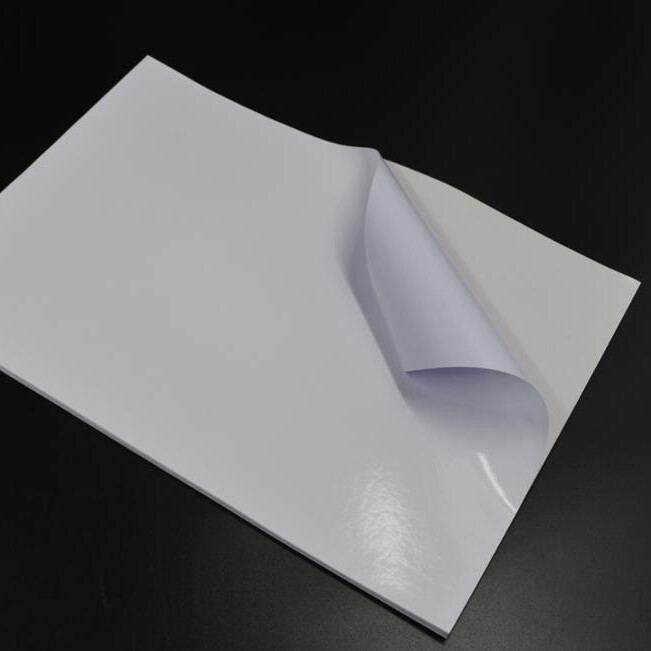 Самоклеящаяся бумага мелованная