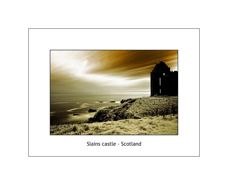 Slains castle - Scotland