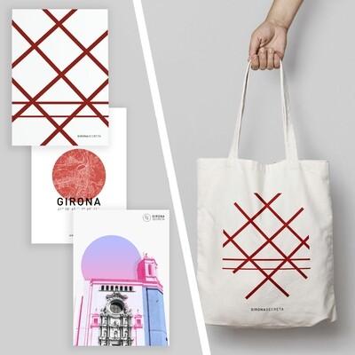 Pack: 3 pòsters i bossa Pont de Ferro