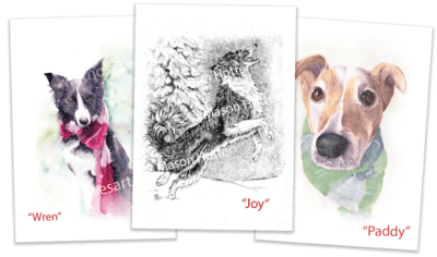 Winter Greeting Cards -  FREE Shipping