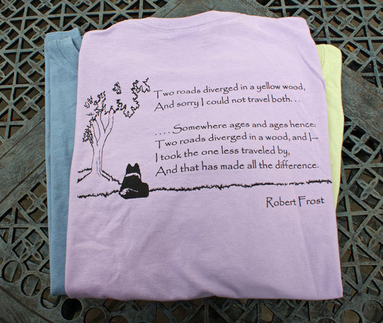 Robert Frost Poem T-Shirt