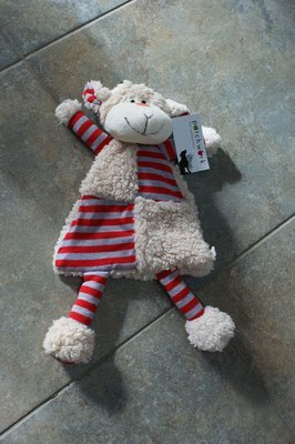 Patchwork SheepDog Toy