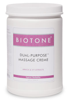Dual-Purpose Massage Creme 1/2 Gallon