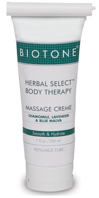 Herbal Select Body Therapy Massage Creme 7 oz