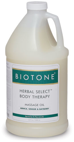 Herbal Select Body Therapy Massage Oil 1/2 Gallon