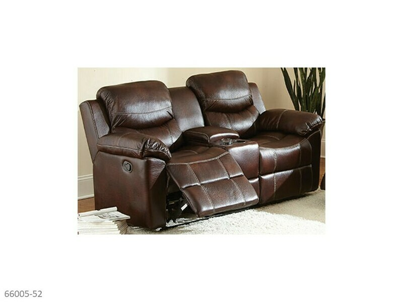 Chestnut Reclining Loveseat by Holland House