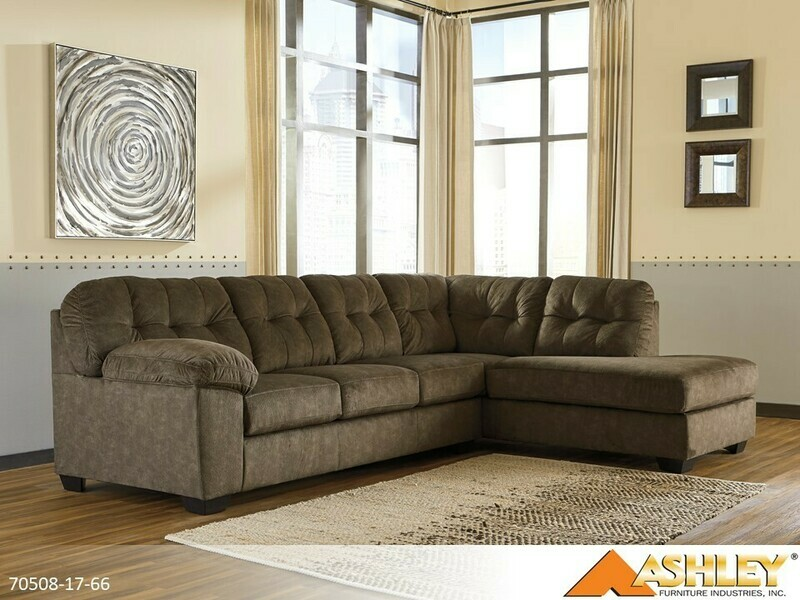Accrington Earth Stationary Sectional by Ashley (2 Piece Set)