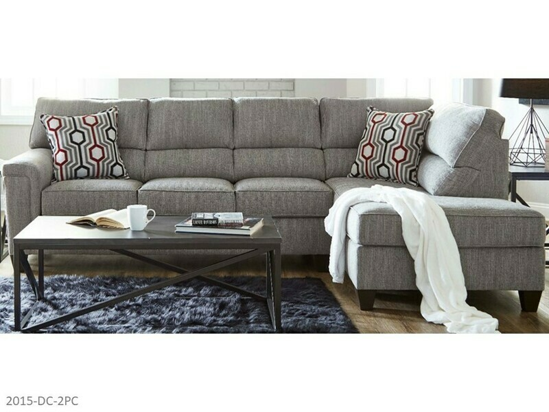 Dante Concrete Stationary Sectional by Lane