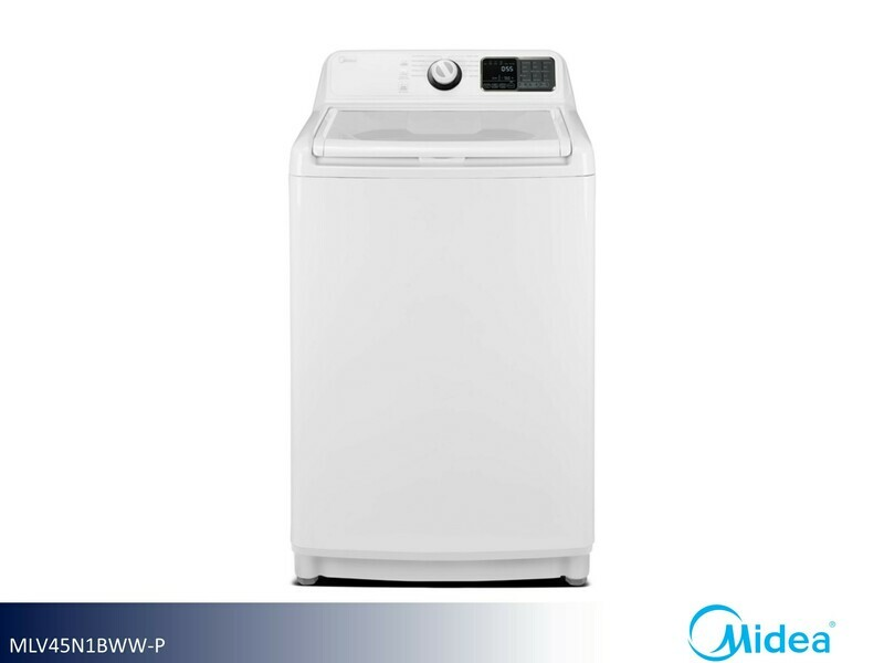White Top Load Washer by Midea (4.5 Cu Ft)