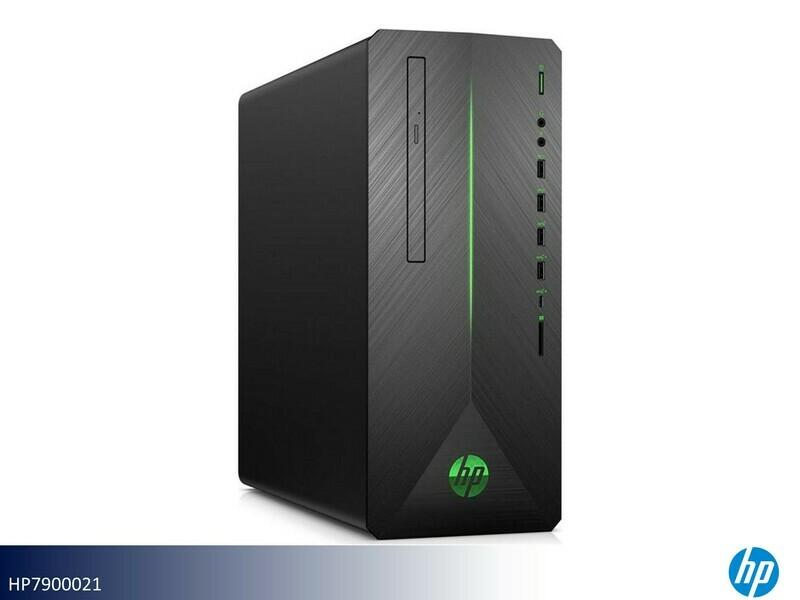 Pavillion Black Desktop Computer by HP