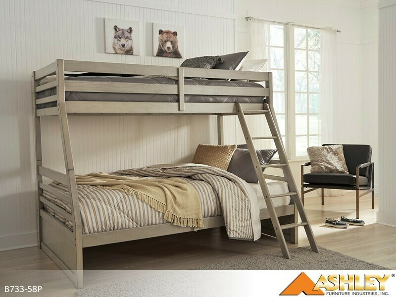 Lettner Bunk Bed by Ashley (Twin-Full)