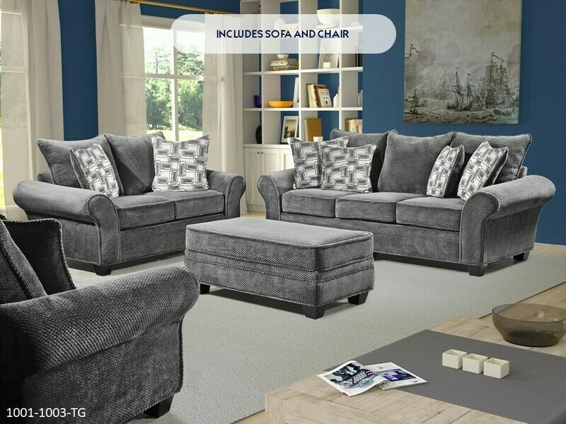Trinidad Granite Sofa and Chair by Washington