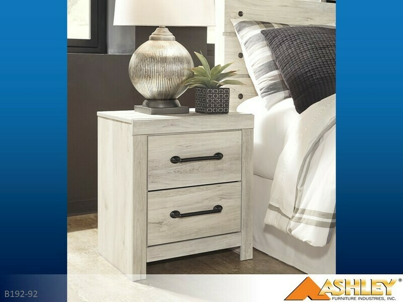 Cambeck Whitewash Nightstand by Ashley