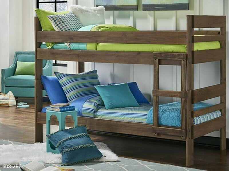 Chestnut Bunk Bed by Simply Bunk Beds (Twin-Twin)