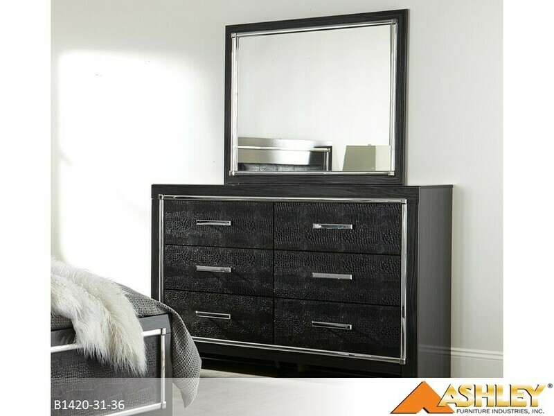 Kaydell Dresser with Mirror by Ashley