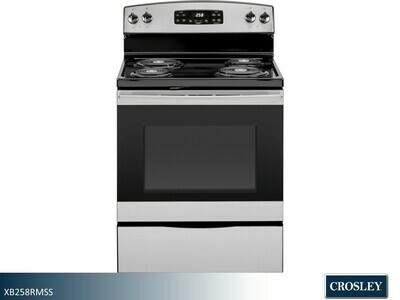 Stainless Electric Range by Crosley (30 Inch)