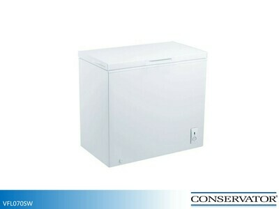 White 7 Cu Ft Chest Freezer by Conservator (7.1 Cu Ft)
