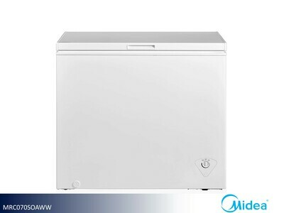 White 7 Cu Ft Chest Freezer by Midea (7 Cu Ft)