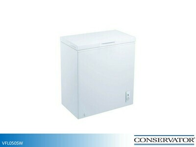 White 5 Cu Ft Chest Freezer by Conservator (5.1 Cu Ft)