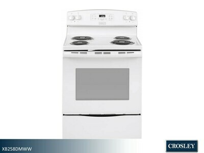 White Electric Range by Crosley (30 Inch)