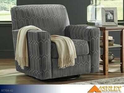 Zarina Graphite Chair by Ashley