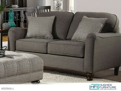 Max Ash Loveseat by Hughes