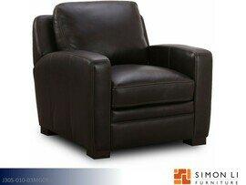 Powell Dark Brown Chair by Simon Li