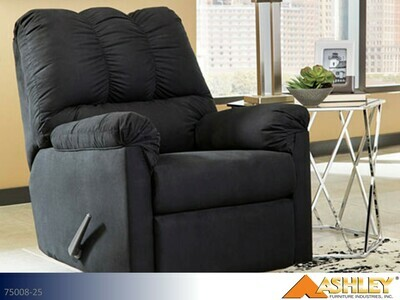 Darcy Black Recliner by Ashley