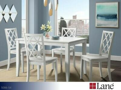 Harbor White 5 Pc Dining Set by Lane (5 Piece Set)