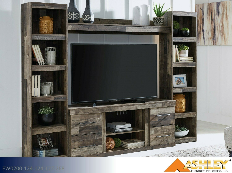 Derekson Multi Gray TV Stand by Ashley