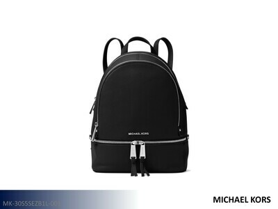 Rhea Black Handbag by Michael Kors (Backpack)